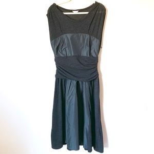 MaxMara black Dress 44 10 wool & silk